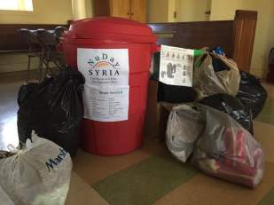 Clothing and supply drive for Syrian Refugees